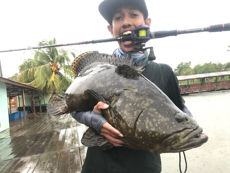 The Angler Magazine, The Angler, Angler Magazine, fishing in sabah, fishing groupers in Sabah, Sabah fishing, where to fish in Sabah, grouper fishing sabah