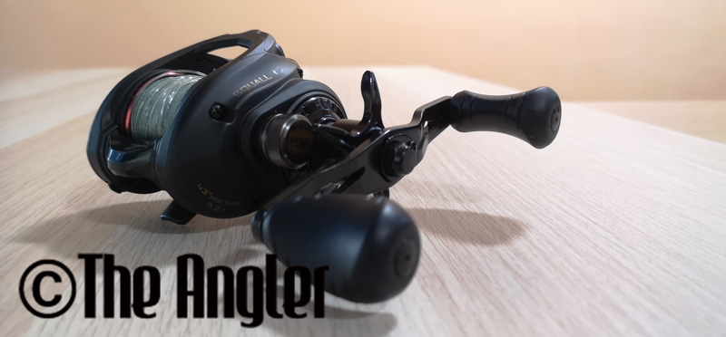 Penn Squall low profile baitcasting reel, penn squall low profile baitcasting reel review, review penn squall low profile reel, penn squall, penn squall low profile reel, the angler magazine, the angler