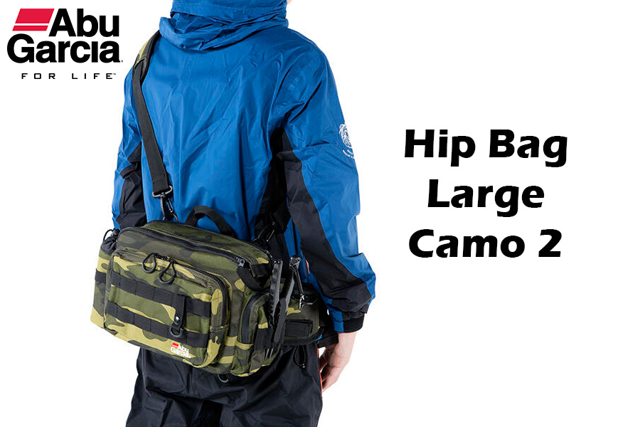 Abu Garcia hip bag, Abu Garcia hip bag 2, fishing bags, fishing pouches, the angler magazine, the angler